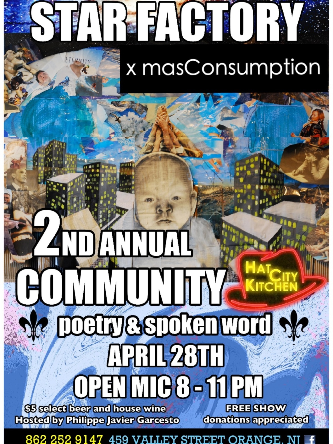 Star Factory Commnity Poetry & Spoken Word