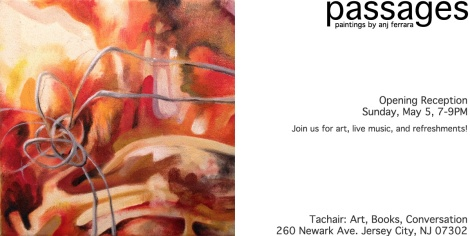Passages: New Paintings by Anj Ferrara