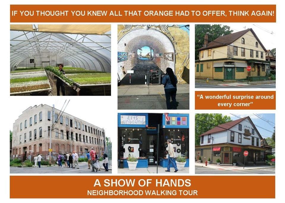 A Show of HANDS Neighborhood Walking Tour
