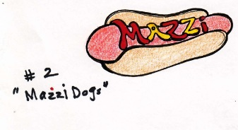 mazzi dogs illustration: gamal jones