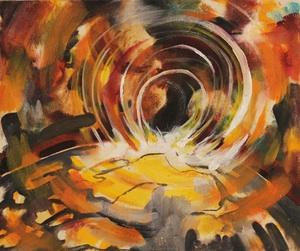 painting by Anj Ferrara