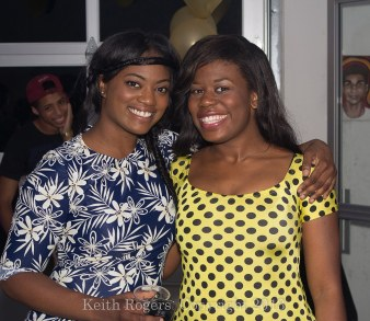 Me, and Marie at Portrait of a Lady Runway Show 2013