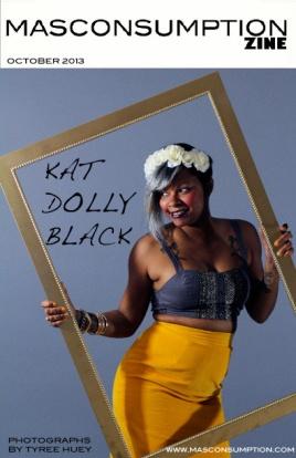 October 2013 e-zine KAT DOLLY BLACK