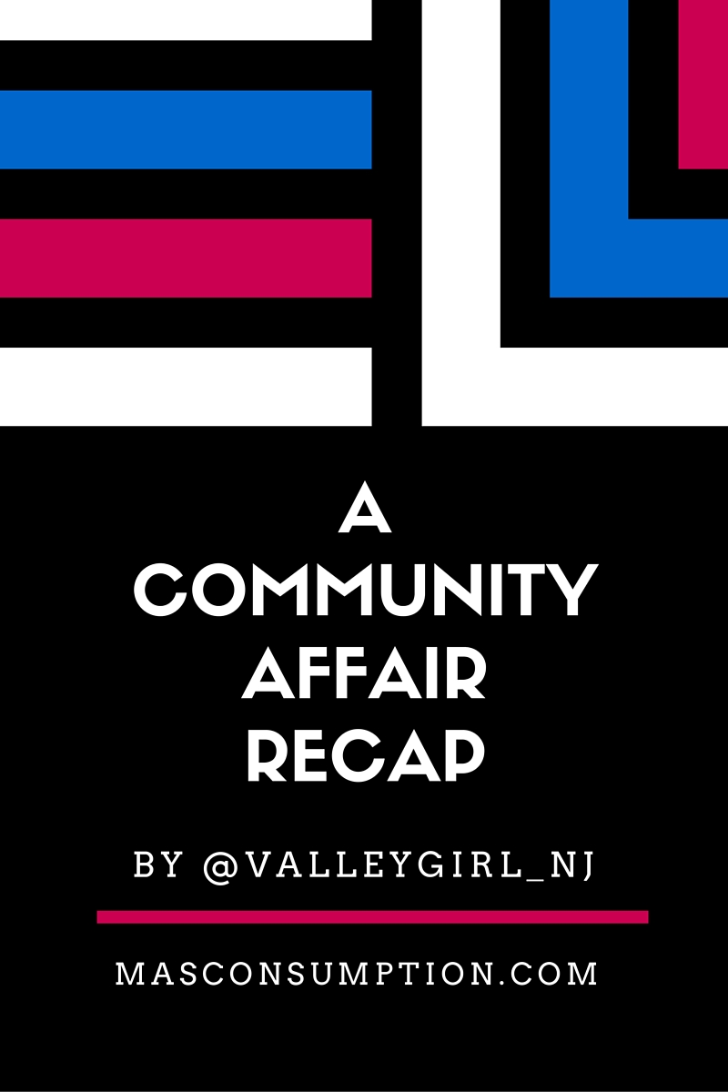 A Communityaffairrecap