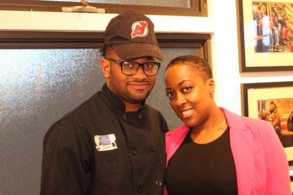 Chefs Josh Hewitt, and Leticia McCledon