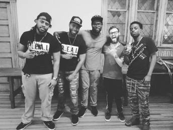 K-Proetic, and O-Live with Sykez, and Ywn at Don't Drop the Mic II at The HUUB