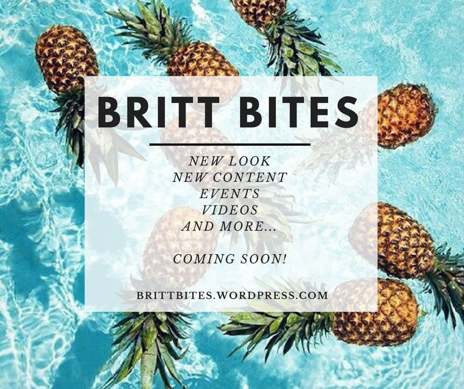 Go to brittbites.wordpress.com for more information on the revamp