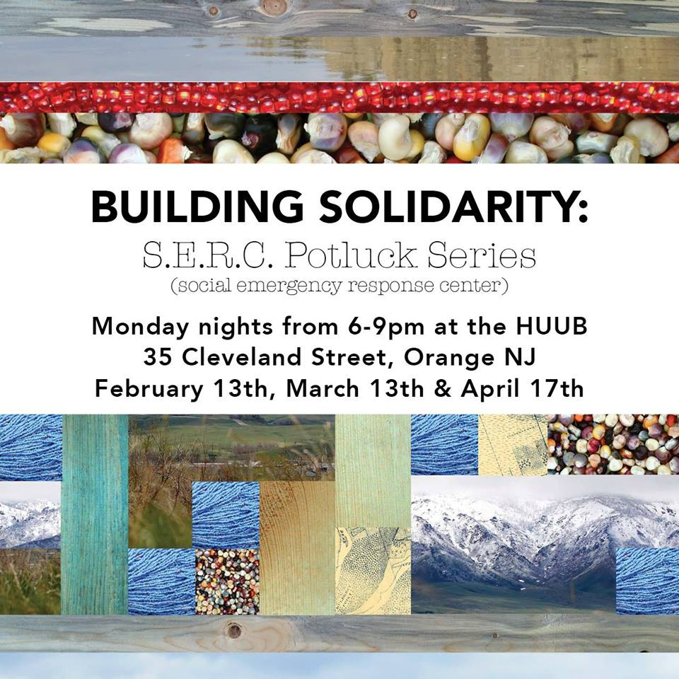 Building Solidarity: A Series of Pot-Lucks to Keep the Conversation going @ The HUUB